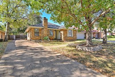 Fort Worth Single Family Home Active Option Contract: 1524 Hollowbrook Court