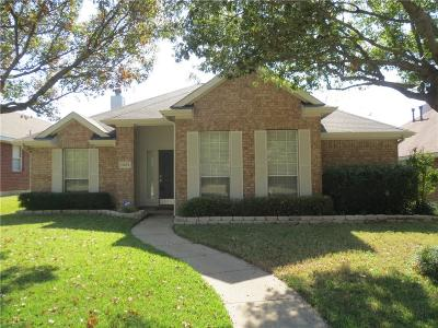 Frisco Single Family Home Active Option Contract: 11475 Newberry Drive