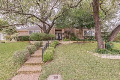 Dallas Single Family Home For Sale: 5906 Brushy Creek Trail