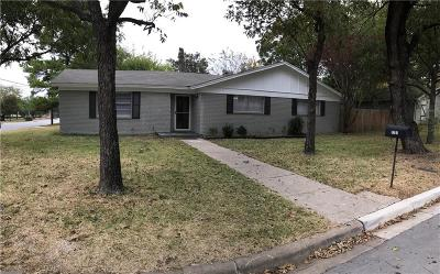 North Richland Hills Single Family Home Active Option Contract: 7701 Deaver Drive