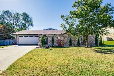Highland Village Single Family Home Active Contingent: 208 Springway Drive