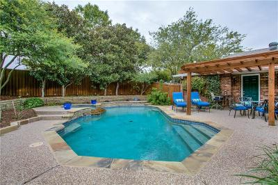 Plano Single Family Home Active Option Contract: 7413 Angel Fire Drive