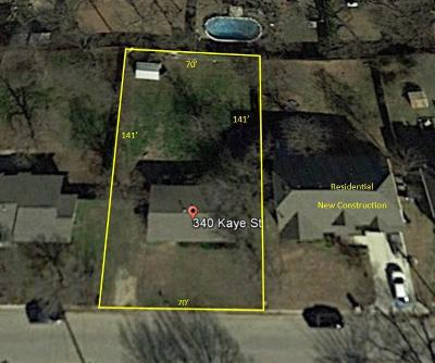 Coppell Residential Lots & Land For Sale: 340 Kaye Street