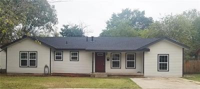 Haltom City Single Family Home Active Option Contract: 5220 Jerri Lane