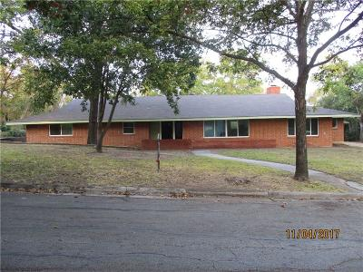 Grand Prairie Single Family Home Active Option Contract: 809 NW 9th Street