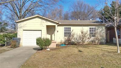 Single Family Home For Sale: 4319 Merrell Road