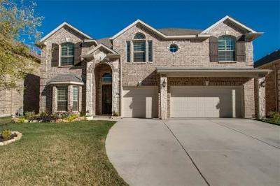 McKinney Single Family Home Active Option Contract: 11916 Presario Road