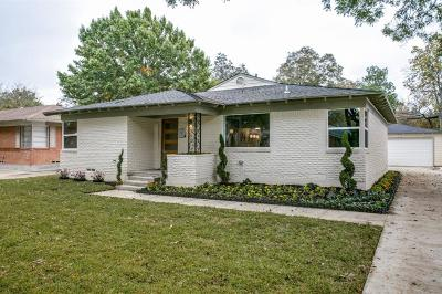 Dallas Single Family Home For Sale: 3742 Matador Drive