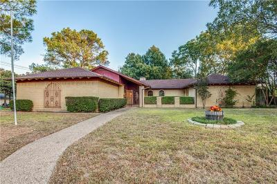 Hurst Single Family Home Active Option Contract: 452 Hillview Drive