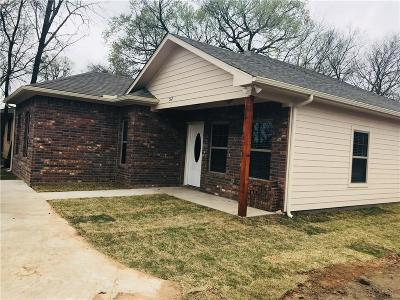Sherman Single Family Home For Sale: 512 N Montgomery Street