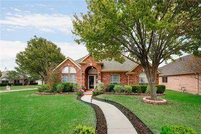 Frisco Single Family Home Active Option Contract: 8602 Timber Crest Court