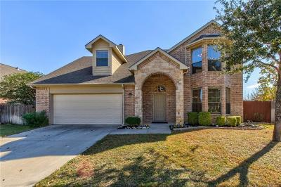 North Richland Hills Single Family Home Active Option Contract: 8312 Crystal Lane