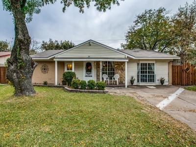 Richardson Single Family Home Active Option Contract: 1152 Shadyglen Circle