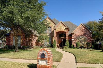 North Richland Hills Single Family Home Active Option Contract: 8312 Thornway Court