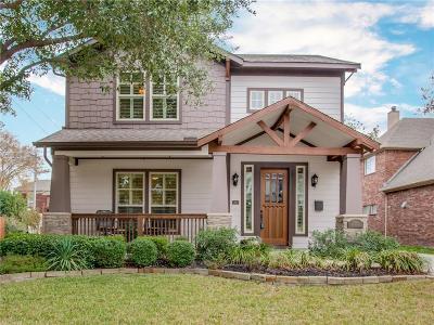 Dallas Single Family Home For Sale: 5848 Prospect Avenue