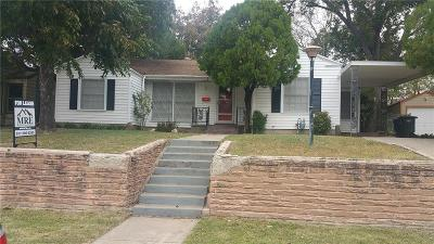 Residential Lease For Lease: 7304 Pensacola Avenue