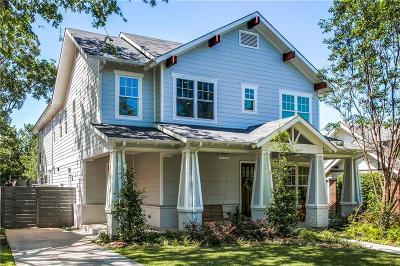 Dallas Single Family Home For Sale: 5218 Goodwin Avenue