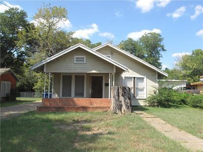 Mexia Single Family Home Active Option Contract: 813 E Main Street