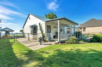 Azle Single Family Home Active Option Contract: 6625 Sandy Beach Road