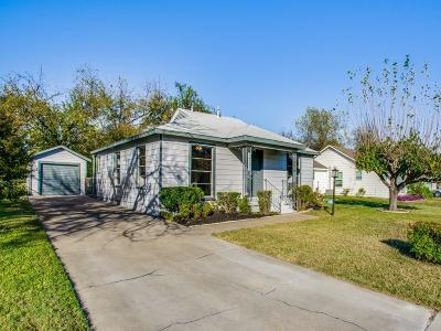Haltom City Single Family Home Active Option Contract: 5721 Hadley Street