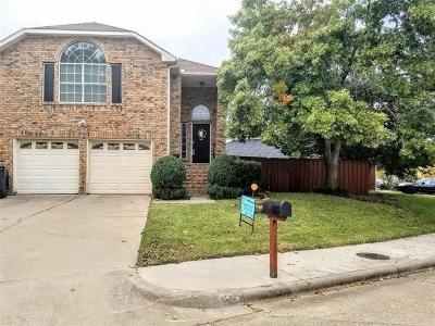 Dallas County, Denton County Single Family Home Active Option Contract: 3127 Renaissance Drive