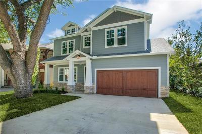 Dallas Single Family Home For Sale: 6030 Vickery Boulevard