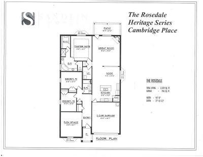 North Richland Hills Single Family Home For Sale: 6745 Cambridge Drive