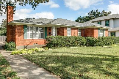 Single Family Home For Sale: 4163 Park Lane