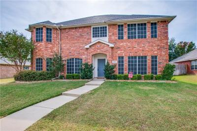 Lewisville Single Family Home For Sale: 1512 Gunnison Trail