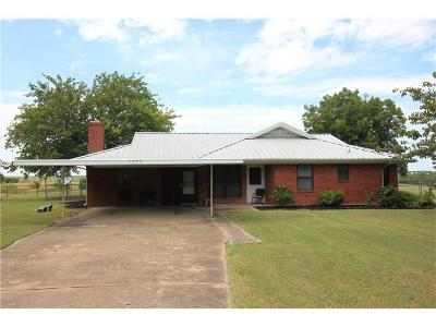 Ennis Single Family Home Active Option Contract: 1332 Mosley Road