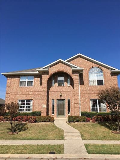 Mckinney Single Family Home Active Option Contract: 4814 Highlands Drive