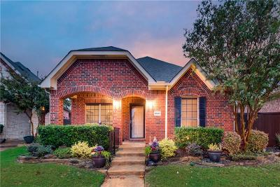 Frisco Single Family Home Active Option Contract: 8080 New Kent Road