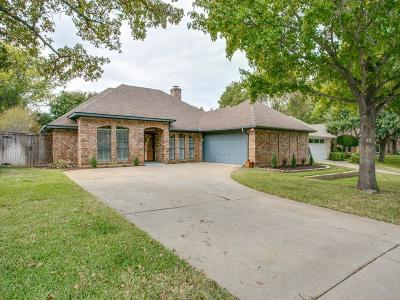 Grapevine Single Family Home For Sale: 1405 Wycliff Street