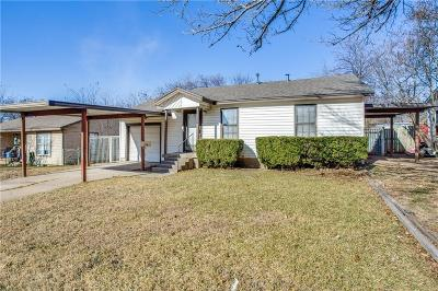 Haltom City Single Family Home For Sale: 4321 Voncille Street