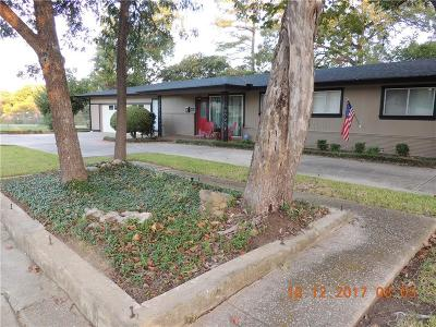 Fort Worth Single Family Home Active Option Contract: 5451 Meadowbrook Drive