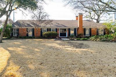 Dallas Single Family Home For Sale: 7014 Azalea Lane