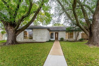 Richardson Single Family Home For Sale: 1302 Elk Grove Drive