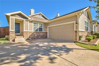 Single Family Home For Sale: 6912 Cottonseed Drive
