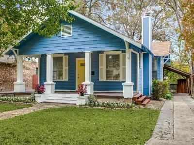 Dallas Single Family Home For Sale: 6324 Goliad Avenue