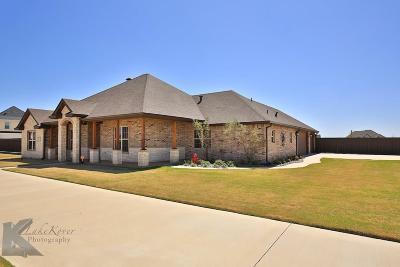 Abilene Single Family Home Active Option Contract: 149 Dove Creek Path