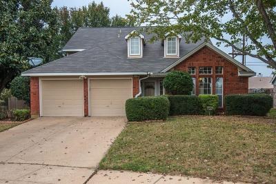 Euless Single Family Home For Sale: 240 Brittany Drive