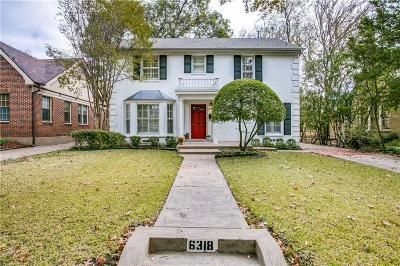 Single Family Home For Sale: 6318 Bryan Parkway