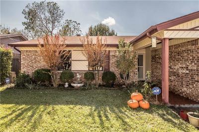 Watauga Single Family Home Active Option Contract: 6312 Macarthur Drive