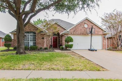 Flower Mound Single Family Home Active Option Contract: 804 Wood Duck Way