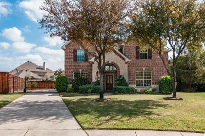 Keller Single Family Home Active Option Contract: 201 Huffman Bluff