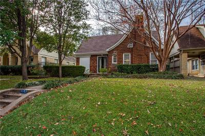 Dallas Single Family Home For Sale: 1107 N Winnetka Avenue