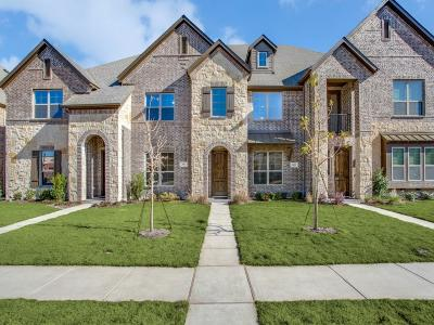 Mckinney Townhouse For Sale: 3021 Decker Drive