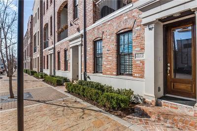 Dallas Townhouse For Sale: 2173 Marilla Street
