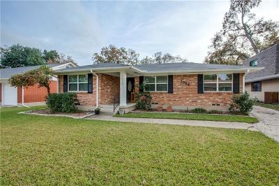 Dallas Single Family Home For Sale: 7024 Wake Forrest Drive