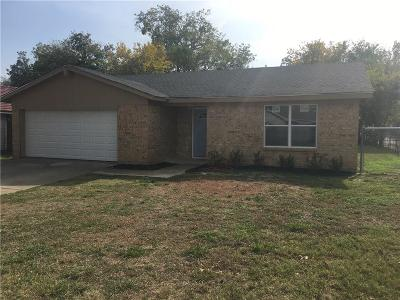Grand Prairie Single Family Home Active Option Contract: 2501 Laurel Street